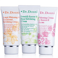 Dr. Douxi Beauty Body set (Armpit & Knees & Hips Exfoliator + Whitening Cream) 3Pcs