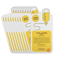 MEDIHEAL Clinic Collagen Impact Essential Mask Pack Sheets 10 Pcs