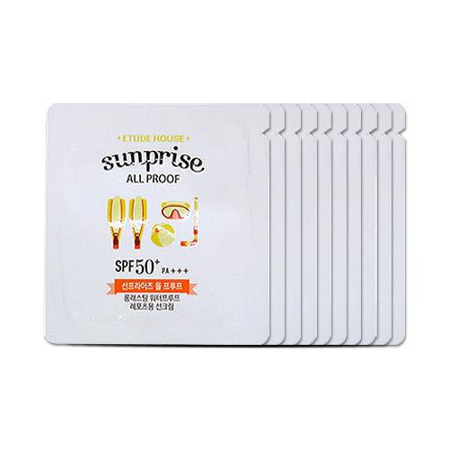 Etude House Sunprise All Proof Samples 10pcs