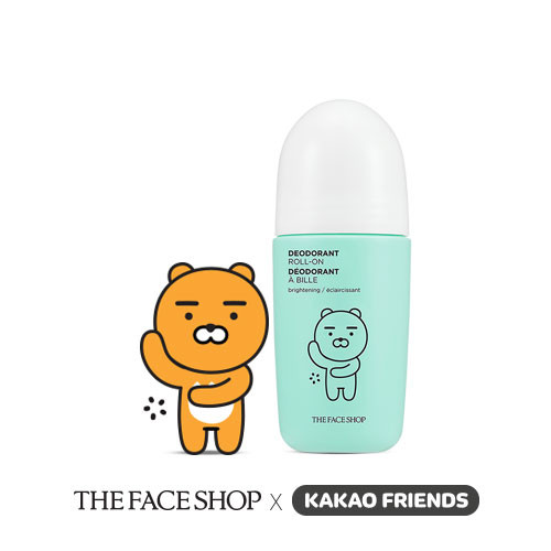 THE FACE SHOP Kakao Friends Etiquette Fresh Deodorant Roll-On #Ryan