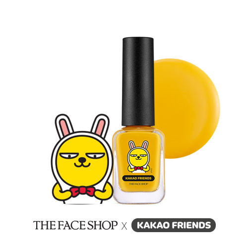 THE FACE SHOP Kakao Friends Trendy Nails #Muzi
