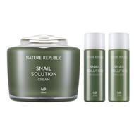 NATURE REPUBLIC Snail Solution Cream Special Set