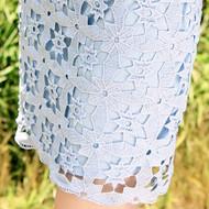 Lace Flower Petal Skirt