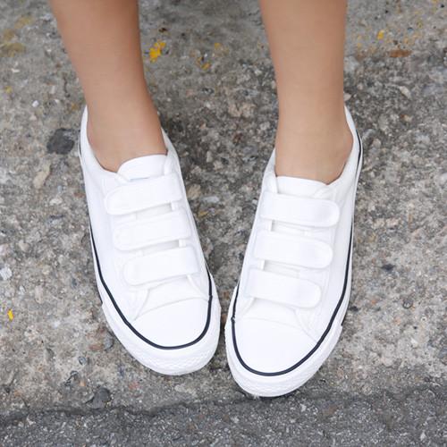 Velcro Strap-On Sneakers