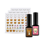 A'PIEU Rilakkuma One Touch Gel Nail Deco Kit