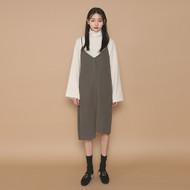 Side-Slit Asymmetric Slip Dress