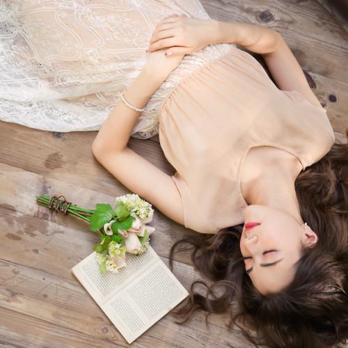 Beautiful Eyelash Lace Stitching Dress
