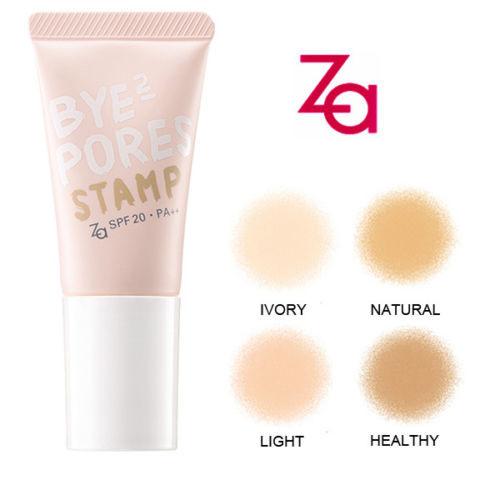 Za Bye Bye Pores Stamps Sponge Liquid Foundation