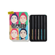 CLIO Gelpresso Waterproof Pencil Gel Liner Mini HD Set 5 Colors