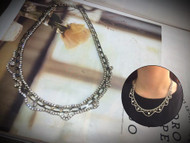 Crown Shape Crystal Necklace
