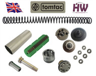 AIRSOFT AEG V2 GEARBOX FULL TUNE UP UPGRADE KIT SET FOR M4 M16 CNC METAL HIGH UK TOMTAC