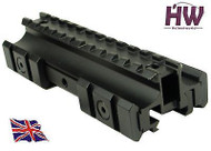 AIRSOFT 3 SIDED 20mm WEAVER PICATINNY RIFLE SCOPE RISER RAIL MOUNT