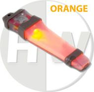 AIRSOFT V-LITE LED SAFETY LIGHT ORANGE HELMET V LITE E LITE E-LITE TAN