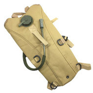 AIRSOFT 3L WATER HYDRATION BACK PACK WITH BLADDER TAN SAND DE HIKING RUCKSACK