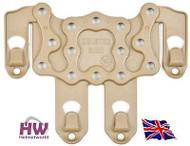 AIRSOFT CQC SERPA PISTOL MOLLE PLATFORM FOR HARD HOLSTER TAN SAND DE UK DELIVERY