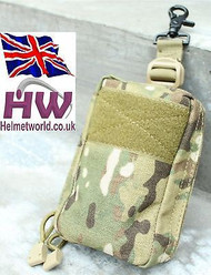 AIRSOFT MULTICAM MTP MC CP MOLLE HANG CLIP POUCH HIGH QUALITY UK