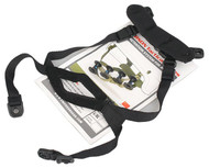 AIRSOFT ACH MICH REPLACEMENT HELMET RETENTION STRAP SET KIT BLACK SWAT