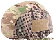 AIRSOFT MULTICAM MTP HYBRID HELMET COVER FOR MICH 2002 NOT 2000 2001 MESH SIDES