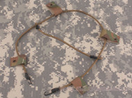 AIRSOFT AF CORE OPS MICH MULTICAM MC MTP HELMET BUNGEE CORD NVG STROBE UK