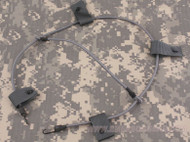 AIRSOFT AF CORE OPS MICH GREEN OD FG HELMET BUNGEE CORD NVG STROBE UK DELIVERY