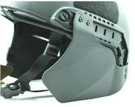 AIRSOFT OPS CORE TACTICAL HELMET BLACK SWAT MICH BLT JUMP SIDE PANELS UK RAIL