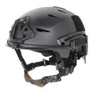 AIRSOFT BUMP TYPE HELMET BLACK ABS MARSOC USSF OPS CORE