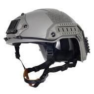 AIRSOFT OPS CORE GREEN OD FG SWAT TACTICAL MARITIME ABS HELMET JUMP RAIL L/XL