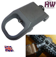 Airsoft Style Rail Sling Attachment Point Mount Steel 20Mm Uk
