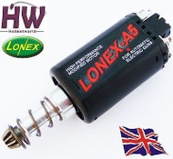 AIRSOFT AEG HIGH TORQUE DURABLE STANDARD MOTOR LONEX A5 ASG LONG M170 M120 M4 V2