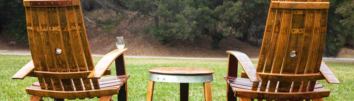 Shop Wine Barrel Chairs & Wine Barrel Chairs