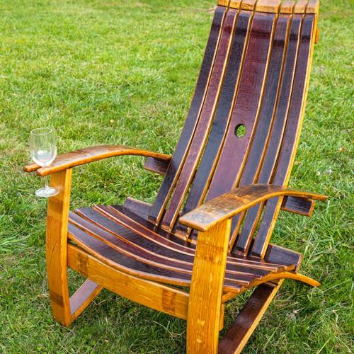 & Wine Barrel Chair