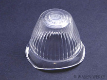 Turn Signal Lens - Type 2 1955 to 1961 - Clear Hella