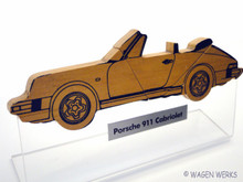 Dealer Display - 911 Porsche Cabriolet - 1983