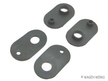 Door Glass Slider Lock Seals - Type 2 1955 to 1967