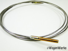 Convertible Top Rear Tension Wire - Bug 1967 to 1979