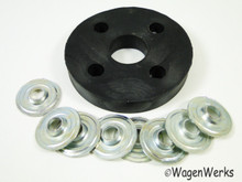 Steering Flange Disc - Round all years