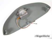 License Light Housing - Bug 1967 to 1979 complete