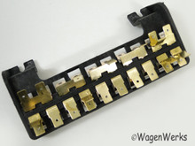 Fuse Box - 10 Fuses Type 2 Bay Window 1968 to 1969