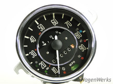 Speedometer - 1969 Only Automatic Bug 1-69 - Rebuilt