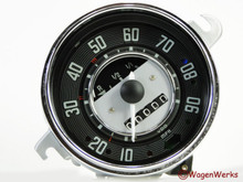Speedometer - 1968 Only Bug 2.68 - Rebuilt