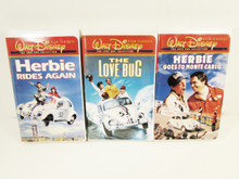 Videos - The Love Bug Herbie rides again Herbie goes to Monte Carlo