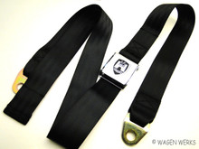Seat Belt - Type 2 Middle Seat - Chrome Black