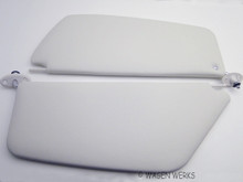 Sun Visor - Bug 1965 to 1967 - off-white - Pair
