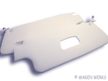 Sun Visor - Bug 1973 to 1979 - Convertible  off-white -Pair