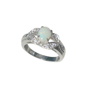 MISTEQUE OPAL STERLING SILVER RING