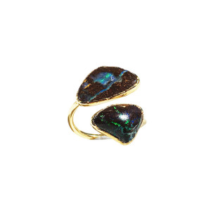ELECTRIC RIVER DUET OPAL RING