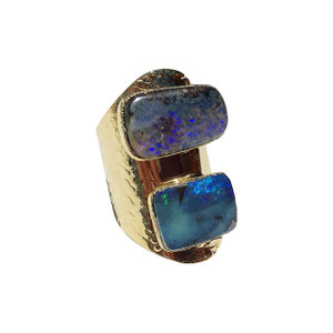 DOUBLE DIP RIVER VIEW OPAL RING