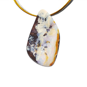 SANDSTONE & POTCH OPAL NECKLACE