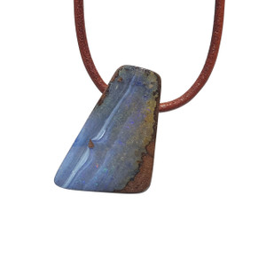 MAGESTIC RIVER SOLID BOULDER OPAL NECKLACE