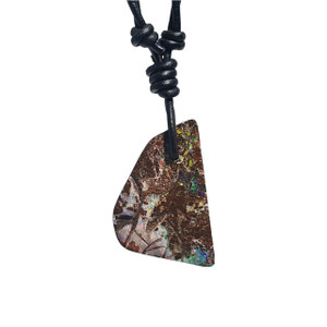 PRISM SOLID BOULDER OPAL NECKLACE